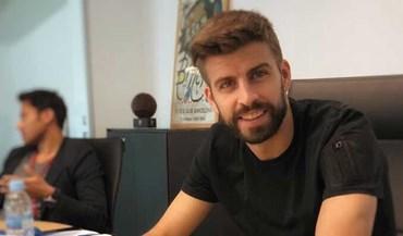 Gerard Piqué 'assinou' pelo... Vizela
