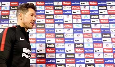 Diego Simeone: «Vamos defrontar a melhor equipa do mundo»