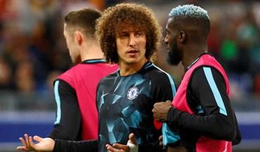 David Luiz de regresso ao onze do Chelsea