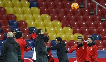 Rui Vitória focado em manter Benfica nas provas europeias
