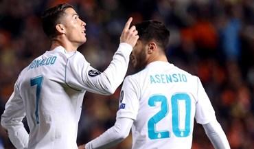 Grupo H: Real Madrid goleia no regresso de Ronaldo aos golos