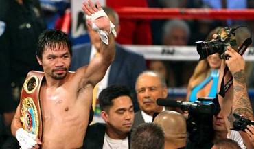 Manny Pacquiao também quer defrontar Conor McGregor?