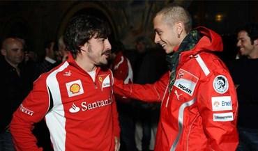 Rossi olha para o futuro e já se vê nas 24 de Le Mans... com Alonso