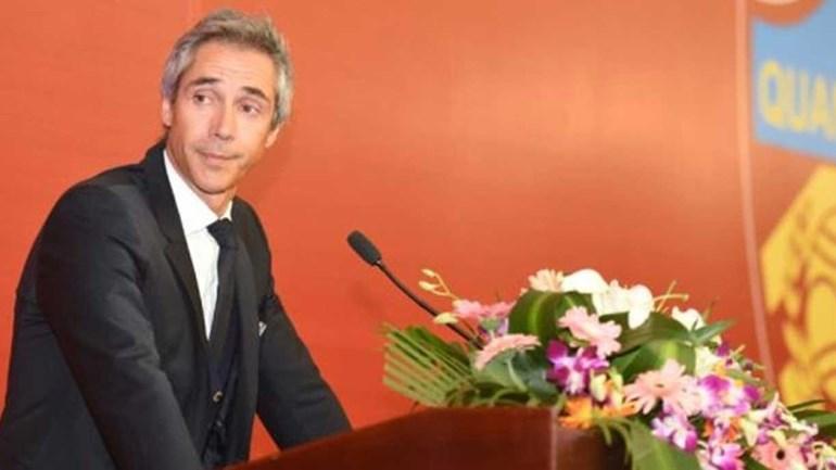 Paulo Sousa no Tianjin Quanjian — OFICIAL