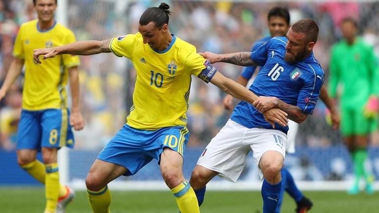 Itália perde para a Suécia nas Eliminatórias da Copa