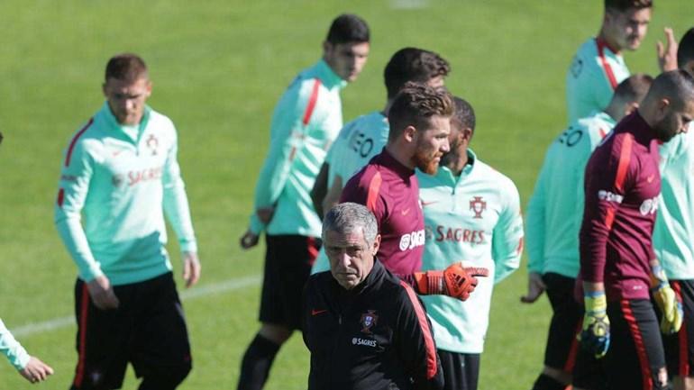 Novo teste no último jogo em 2017 — Portugal-Estados Unidos