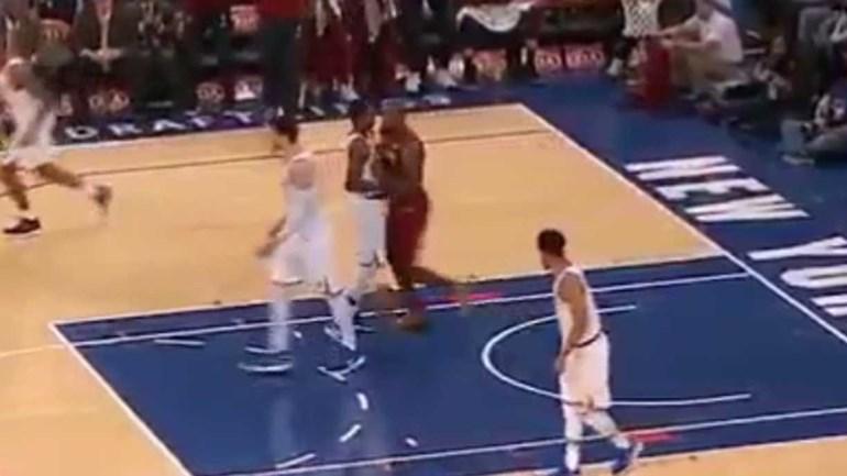 LeBron, isso não se faz ao rookie!