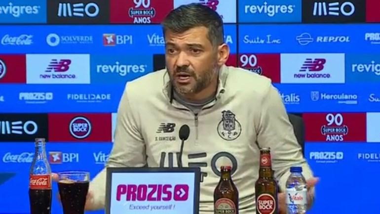 Sérgio Conceição e Francisco J. Marques: «No futebol, existe um treinador e um presidente»