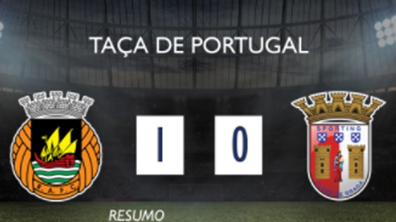O resumo do Rio Ave-Sp. Braga (1-0)