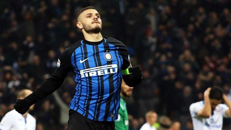 Bis de Icardi rende mais uma vitória ao Inter