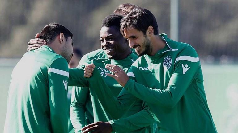 A alegria de Bryan Ruiz, a risada de Gelson e Mathieu... 'protegido'