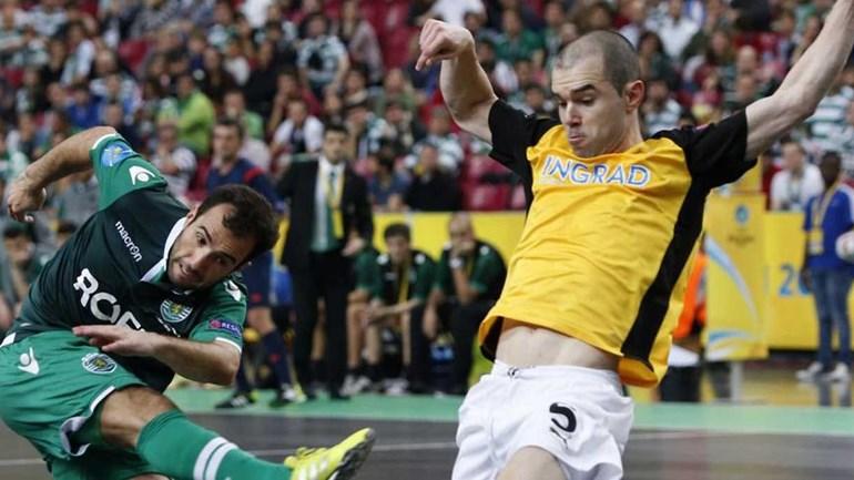 Sporting abre ronda de elite com triunfo por 3-2 — Futsal