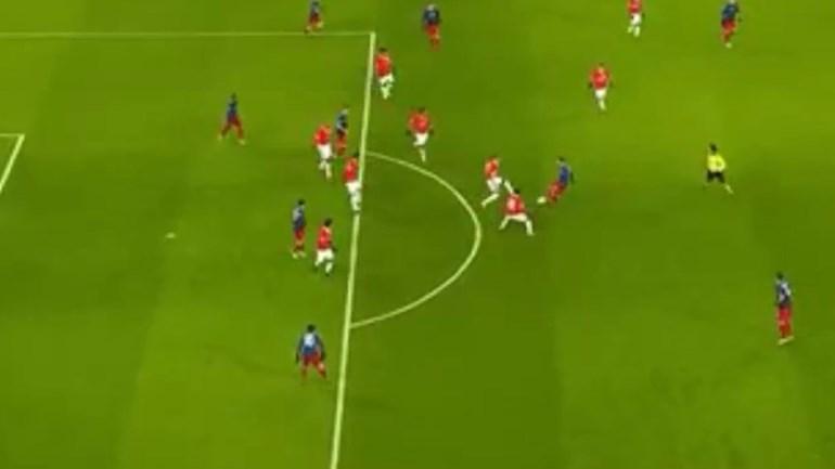 O polémico golo do CSKA Moscovo frente ao Benfica