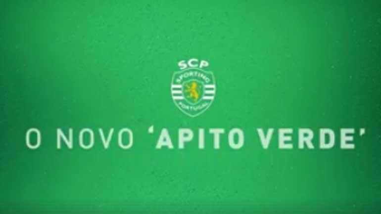 Sporting revela o Apito Verde