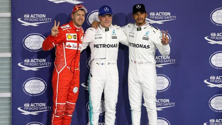 Mercedes dominam grid de Abu Dhabi, com Bottas em primeiro