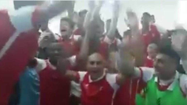 Juniores do Sp. Braga vencem V. Guimarães e fazem a festa no balneário