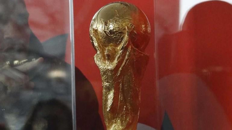 Troféu do Mundial'2018 já está no Kremlin