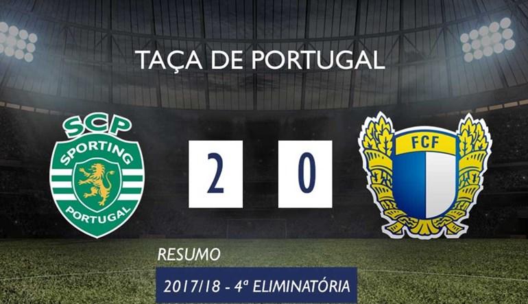 O resumo do Sporting-Famalicão (2-0)