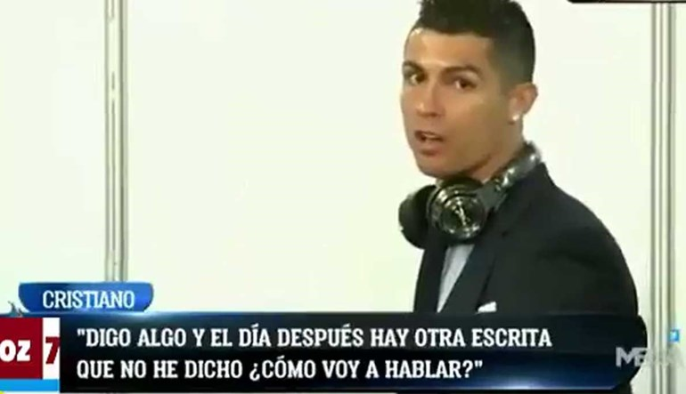 Cristiano Ronaldo 'desanca' imprensa após marcar dois golos