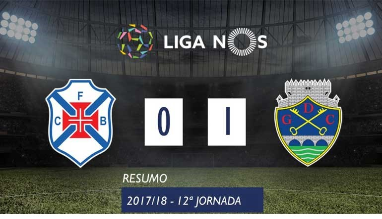 O resumo do Belenenses-Chaves (0-1)