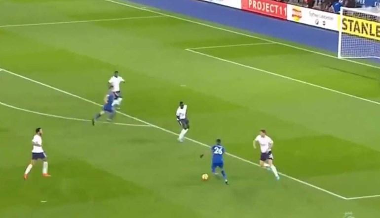 O golaço de Mahrez ao Tottenham