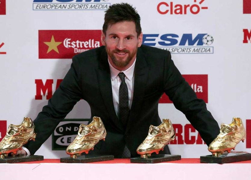 A coleção de Messi que lhe permite igualar Cristiano Ronaldo