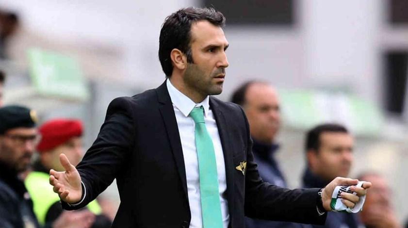 Sérgio Vieira: «É difícil em tão pouco tempo fazer tudo o que gostaríamos»