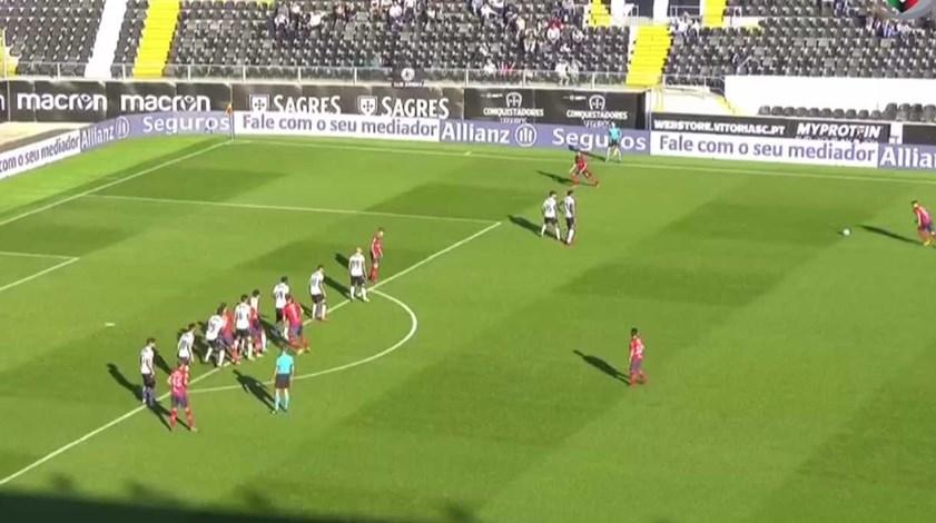 Os melhores momentos do V. Guimarães-Oliveirense (1-4)