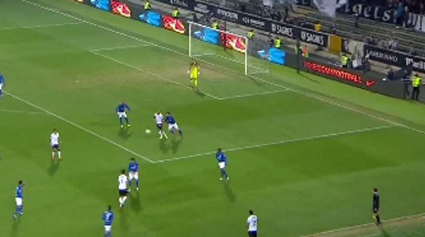 Os melhores momentos do V. Guimarães-Feirense (2-1)