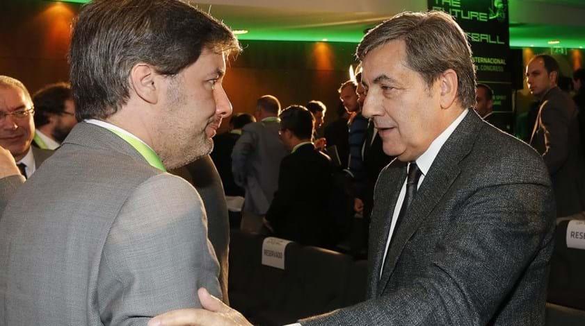 Encontro de Fernando Gomes com Bruno de Carvalho pode ser já no final do mês