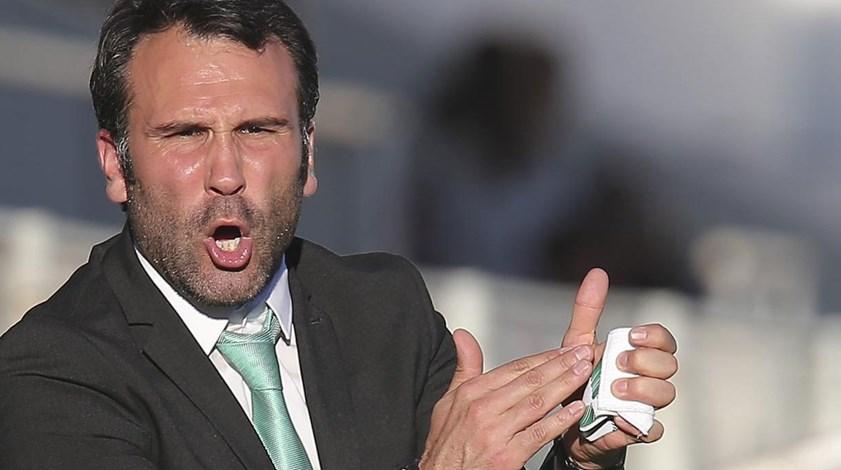 Sérgio Vieira: «Mentalidade é sempre entrar para ganhar os três pontos»
