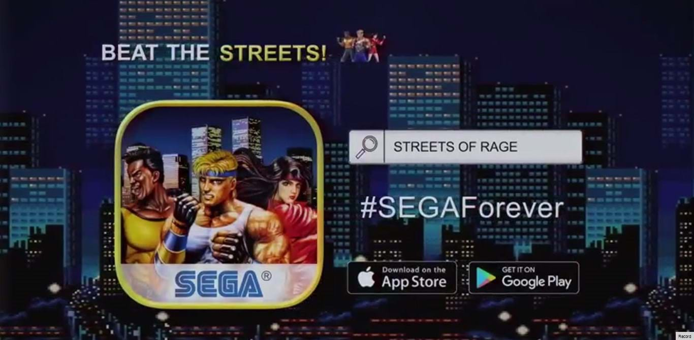 Streets of Rage lançado para Android e iOS