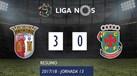 O resumo do Sp. Braga-P. Ferreira (3-0)