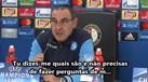 Treinador do Nápoles passou-se com jornalista e até o Benfica foi chamado à conversa