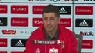 Rui Vitória explica rotatividade entre Bruno Varela e Svilar