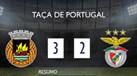 O resumo do Rio Ave-Benfica (3-2 a.p.)