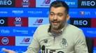 Sérgio Conceição deu os parabéns aos jornalistas pela conferência de imprensa