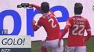 Pizzi estreou-se a marcar e deu vantagem ao Benfica