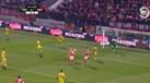 Salvio fez o 2-0 em Tondela de cabeça