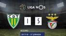O resumo do Tondela-Benfica (1-5)