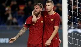 Roma vence por 3-1 o Spal e 'encosta-se' à Juventus