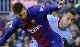 Barcelona empata antes da receção ao Sporting