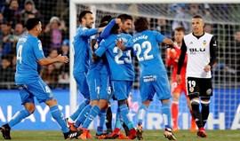 Getafe impõe primeira derrota da temporada ao Valencia