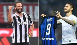 Juventus-Inter Milão: Um 'tiro ao alvo' entre argentinos