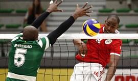Benfica afasta Sporting e está nos 'quartos' da Taça de Portugal de voleibol