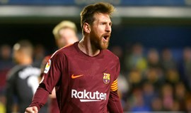 Barcelona vence o Villarreal e reforça a liderança