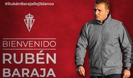 Rubén Baraja é o novo treinador do Sp. Gijón
