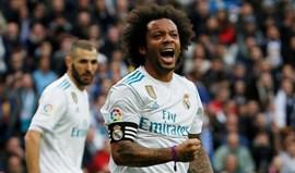 Marcelo: «Gostaria de acabar a carreira no Real Madrid»