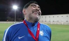 Dizem a Maradona que Ronaldo é o melhor da história e a reação é imperdível