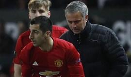 Mkhitaryan saiu de cena no United porque não gostou de ouvir um raspanete